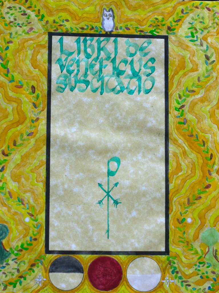 Parchment Cover for Book