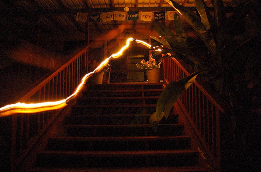 Burning a Path