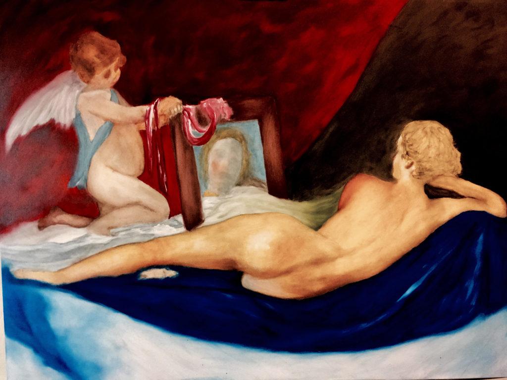 Venus in her Mirror Peter K
